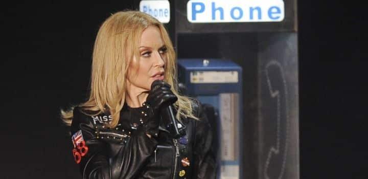Kylie Minogue: plus de 20 policiers déployés à son concert !