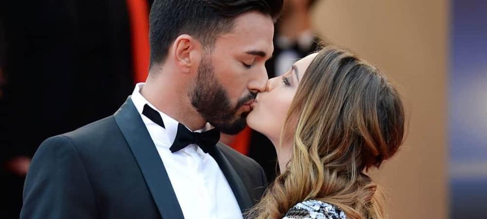 Nabilla et Thomas Vergara en plein baiser face à la mer de Dubaï !