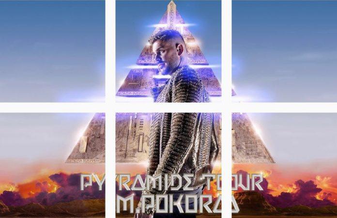 Pyramide Tour M Pokora dévoile l'affiche et toutes les dates sur Instagram article
