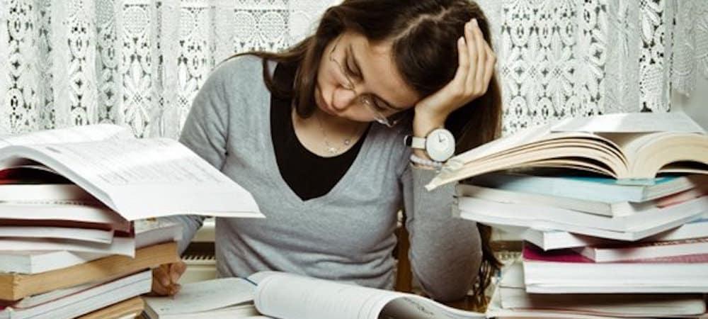 Université: Les étudiants ne délaisseraient leur santé pour les études !
