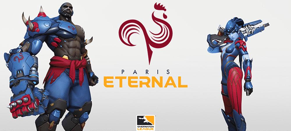 Overwatch League: le logo de Paris Eternal révélé par DM-Esports