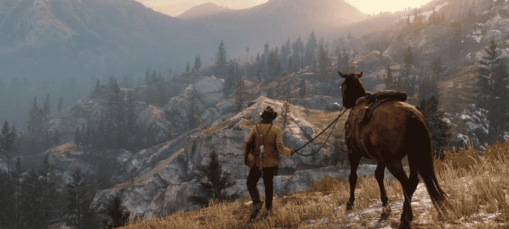 Red Dead Redemption 2: la progression de la beta Online sera réinitialisée