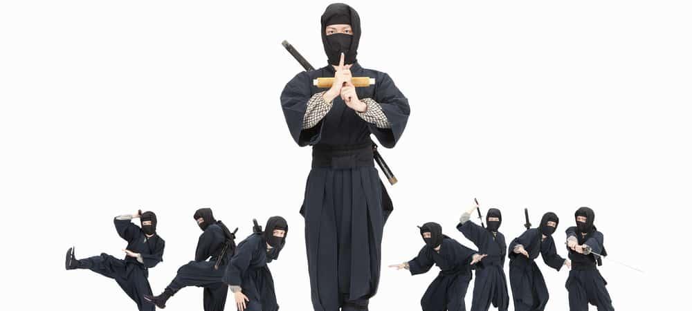 Job de rêve: La ville Japonaise d'Iga est en pénurie de Ninjas !