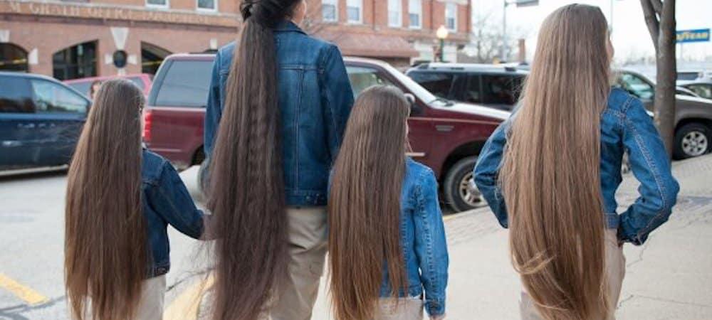 Une ado bat le record des plus longs cheveux du monde !