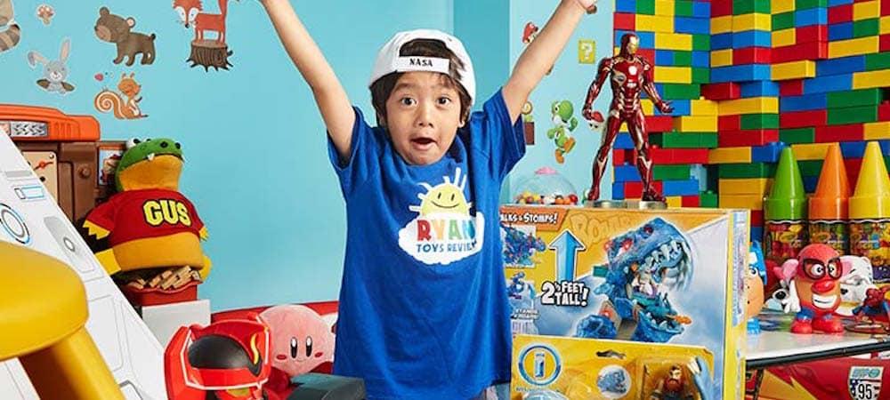 À seulement huit ans, un enfant gagne plus de 22 millions de dollars en un an !