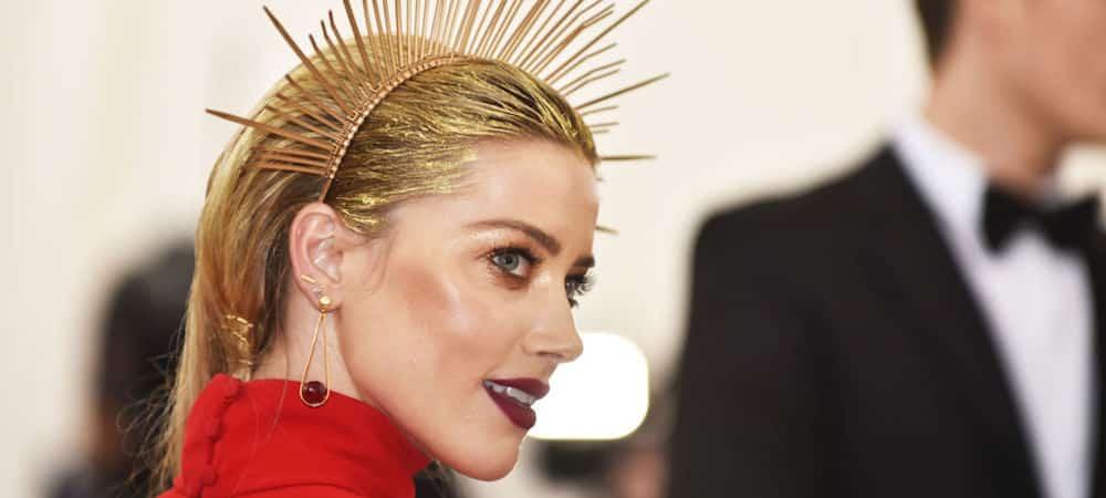 Amber Heard: Elle porte un top transparent pour la promotion d'Aquaman !