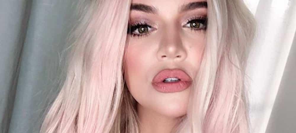 Instagram: Khloe Kardashian s'affiche avec les cheveux d'une sirène !