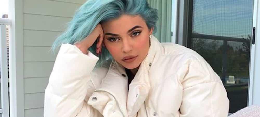 Instagram: Kylie Jenner a décidé de se teindre les cheveux en bleu !