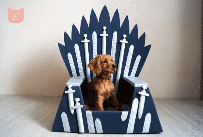 Game of Thrones: Des litières pour chats et chiens inspirées de la série
