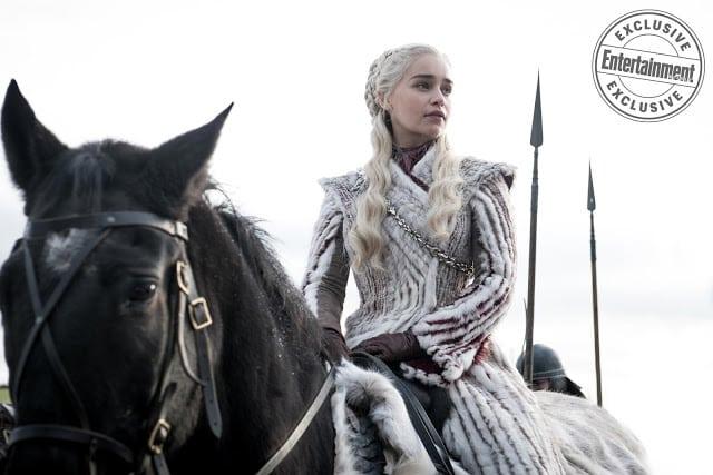 Game of Thrones saison 8: Daenerys et Brienne se préparent à la guerre sur des photos !