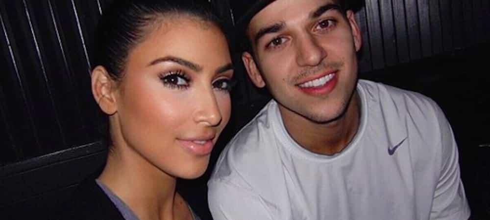 """Kim Kardashian souhaite un joyeux anniversaire à son """"unique frère"""" Rob !"""