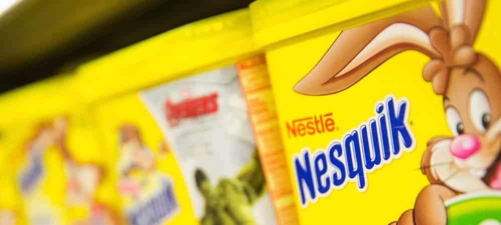 Lifestyle: la célèbre boîte jaune de Nesquik va disparaître !