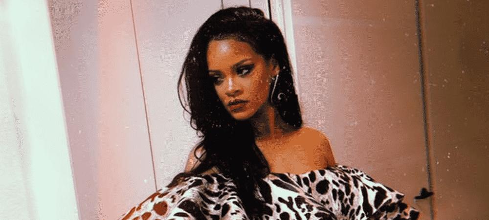 Rihanna enflamme la toile avec une photo très sexy en lingerie !