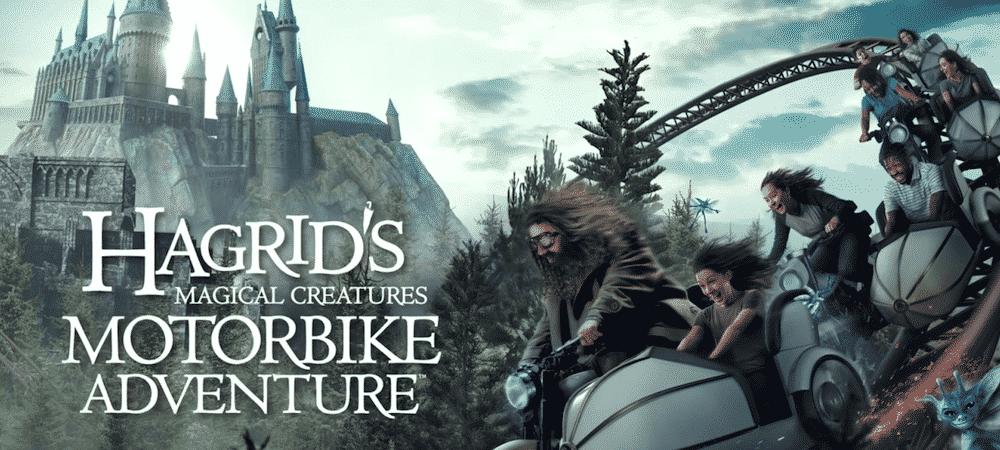 Harry Potter: une nouvelle attraction Hagrid ouvre ses portes à Orlando!