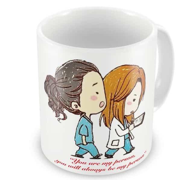3 Le mug préféré de Meredith avec sa phrase préférée