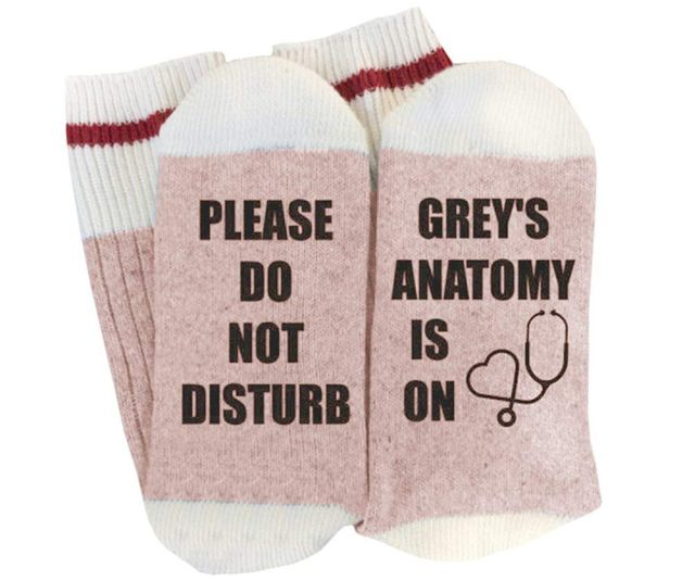 5 Si tu as froid aux pieds, n'oublie de mettre tes chaussettes Grey's Anatomy