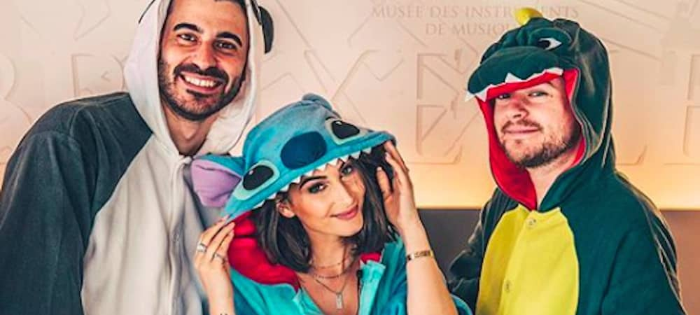 Instagram: Jeremstar sort sa pyjama party avec Lufy et Enzo !