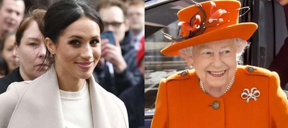 Meghan Markle ne lâche rien face à la reine Elizabeth II !