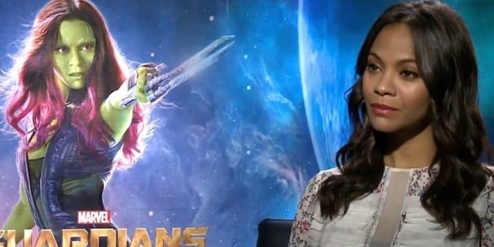 Gardiens de la Galaxie: Zoe Saldana commente le retour de James Gunn !