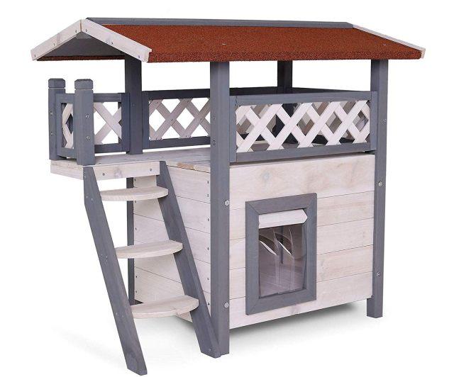 10 Une petite cabane en bois pour votre animal préféré. Il se sentira encore mieux chez vous et va kiffer comme un petit coquin