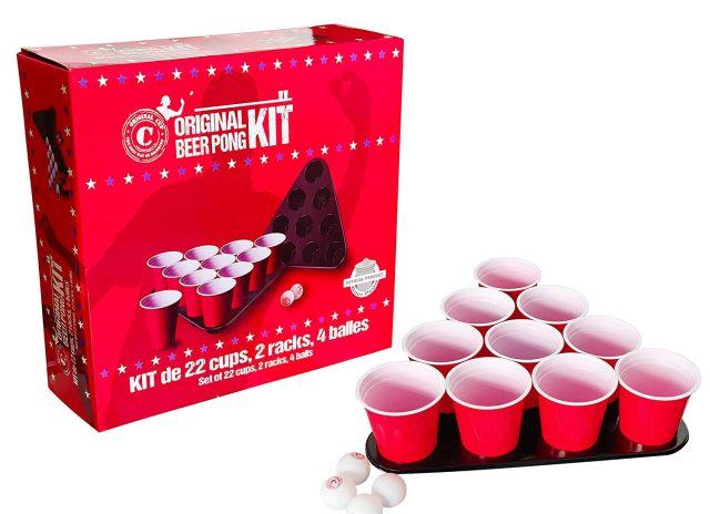 16 Une vraie coloc ne peut pas se faire sans un jeu de beer pong