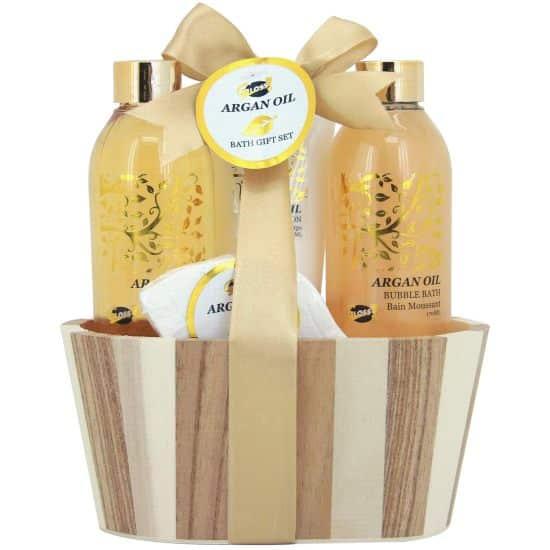 18 Coffret Cadeau-Coffret de bain à l'huile d'Argan, c'est très bon pour la peau