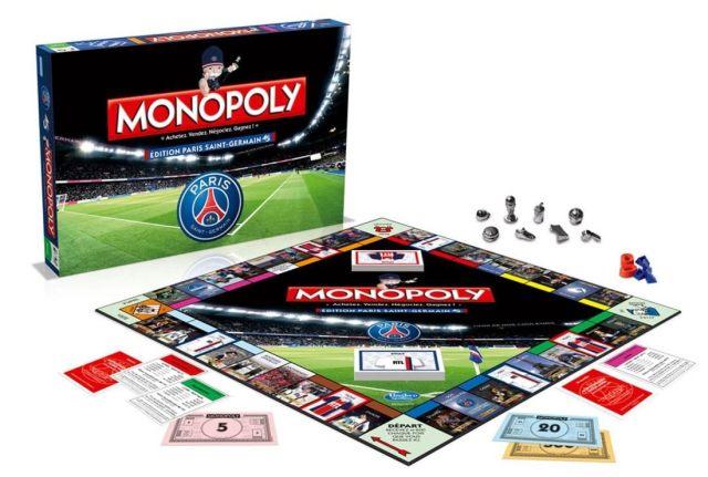 19 Tu es fan de jeu de société et aussi du PSG, il existe un Monopoly sur ton club de foot préféré