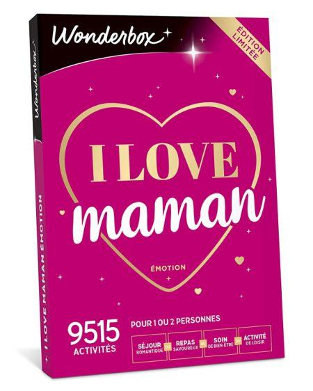 2 Un coffret cadeau Wonderbox pour que ta maman passe une journée inoubliable grâce à toi pour la fête des mères