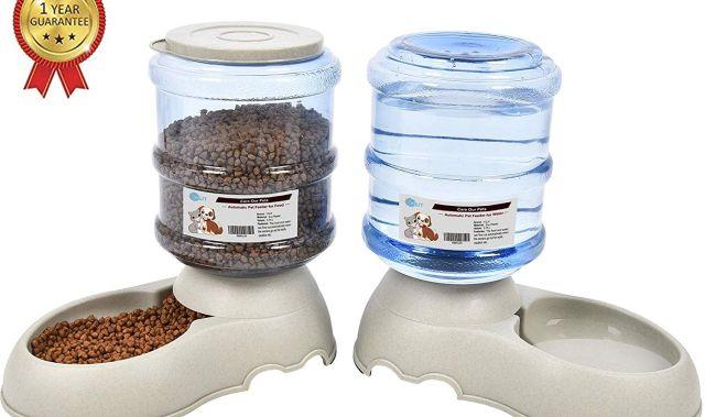 25 Plus besoin d 'être là pour nourrir votre chat avec ce distributeur automatique de croquettes