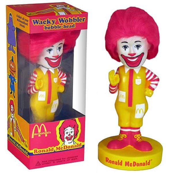 3 Cette figurine de Ronald McDonald donnera de la couleur à votre intérieur ou à votre chambre