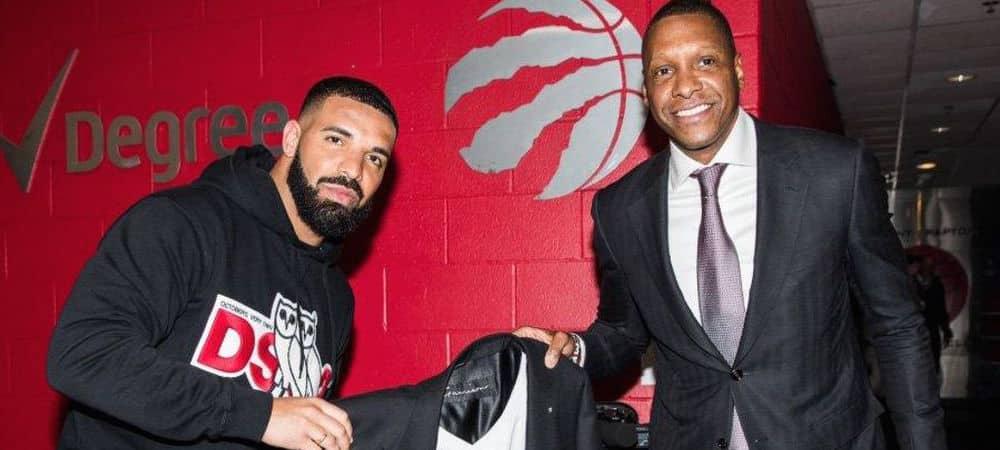 Drake les Raptors lui offrent une veste à 550 000 dollars !
