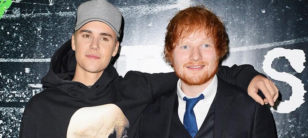 """Justin Bieber et Ed Sheeran lâchent leur collaboration: """"I Don't Care"""" !"""