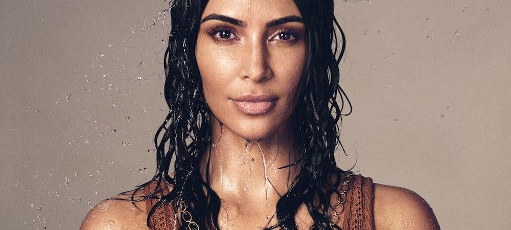 Kim Kardashian: les dessous de son shooting pour sa marque Mrs.West Collection !