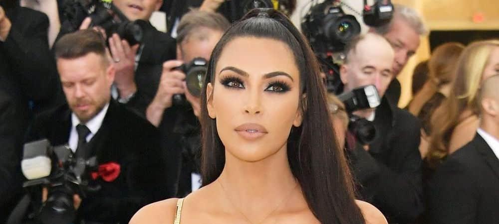 Kim Kardashian toujours aussi fière de son look du Met Gala 2018