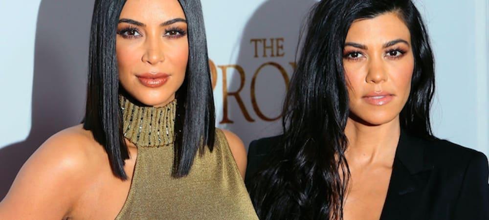 Kim Kardashian ultra sexy et complice avec Kourtney Kardashian sur Instagram !