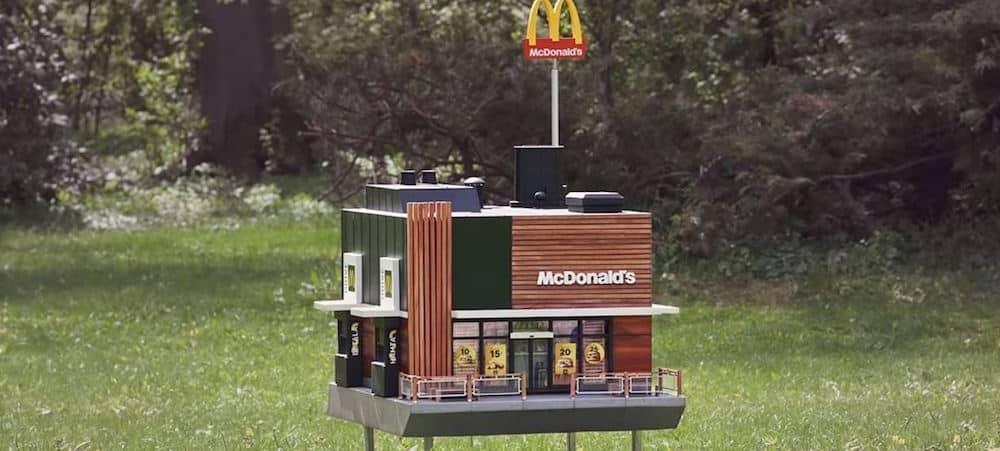 McDonald's ouvre des restaurants miniatures pour... les abeilles !
