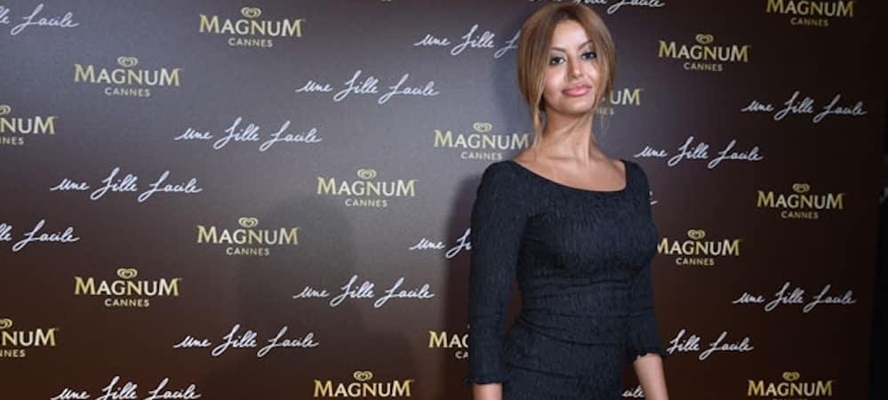 Zahia Dehar fait preuve de gourmandise au Festival de Cannes !