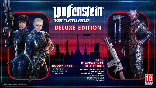 11 Wolfenstein Youngblood Deluxe Edition