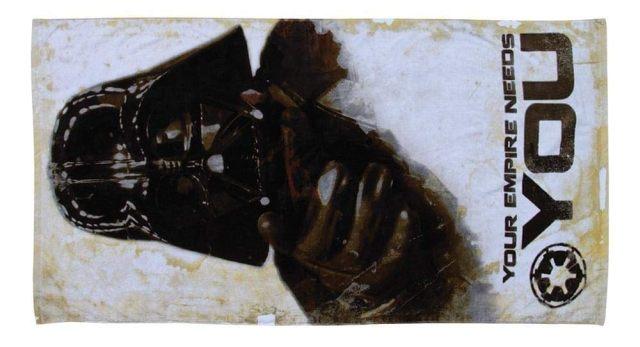 13 La serviette de plage Dark Vador qui lance un appel. Son empire a aussi besoin de vous