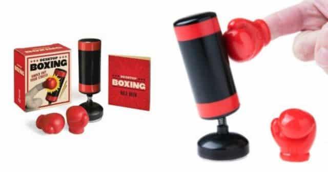 13 Le mini punching-ball est l'accessoire de bureau idéal pour un soulagement du stress à la fois discret et efficace avant le Bac