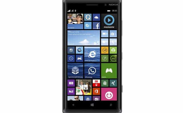 14 Nokia Lumia 830 Smartphone débloqué 5 Pouces 16 Go Microsoft Windows Phone 8.1 Noir