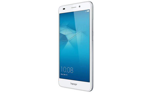 16 Honor 5C Smartphone débloqué 4G Ecran 5,2 pouces 16 Go Double Nano SIM Android 6.0 Marshmallow Argent