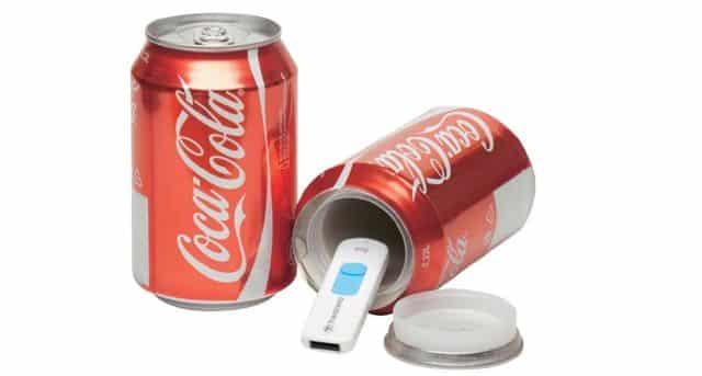 20 Et si vous utilisez cette canette de coca cola pour cacher vos clés quand vous serez au bord de la plage cet été