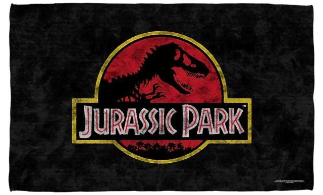 20 Les fans de dinosaures et de Jurassik Park ont aussi droit à une très belle serviette de plage