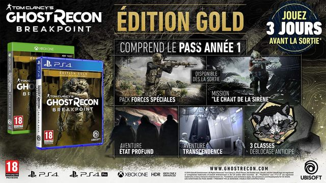 4 Ghost Recon Breakpoint Edition Gold