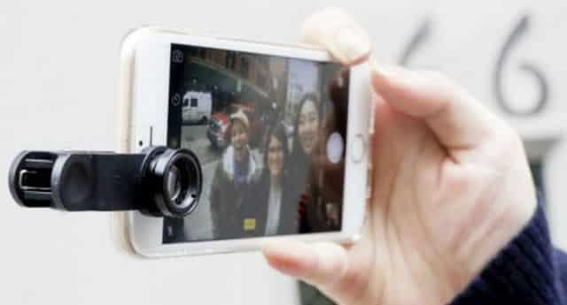 4 Photographe en herbe avec un petit budget C'est possible avec ce kit d'objectifs pour smartphone
