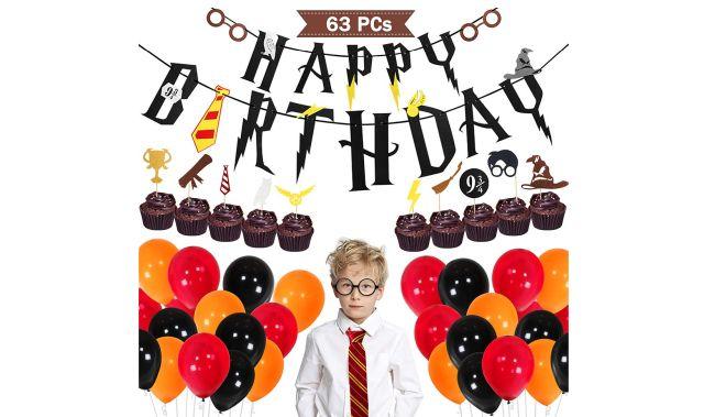 47 Tu veux organiser un anniversaire inoubliable pour un fan du petit sorcier MCE a trouvé tout ce qu'il te fallait