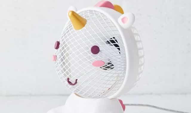5 Un vent frais soufflera sur votre visage cet été pour vous éviter la surchauffe pendant la canicule. Une simple prise USB et le tour est joué