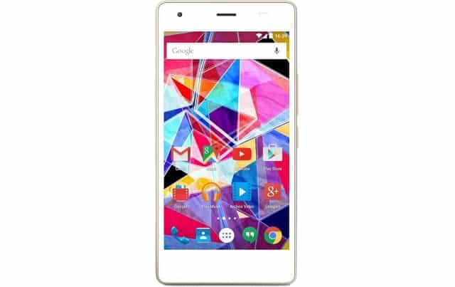 6 Archos AC50DIS Diamond S Smartphone débloqué 4G Ecran 5 pouces 16 Go Double SIM Android 5.1 Lollipop Blanc