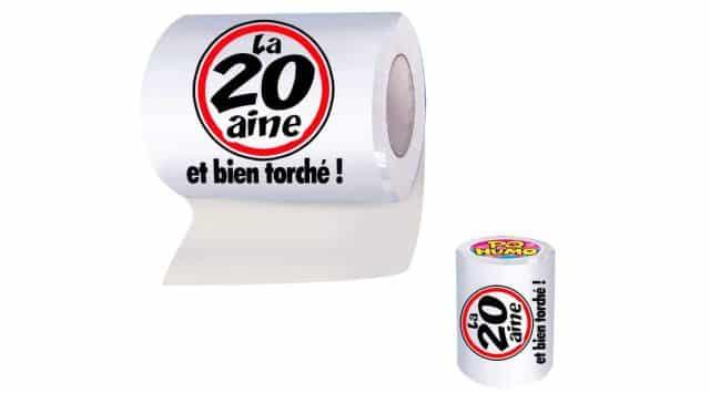 7 Et si pour rigoler vous lui offrez ce rouleau de papier wc. Il va beaucoup rire en voyant ce qu'l y a écrit dessus